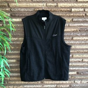 Attack Life by Greg Norman Black Performance Vest